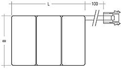 Bild 4: nebeneinander; Anschluss: Steckverbinder