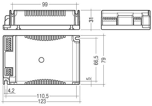 PC TC PRO, 1/2x9 – 70 W - Tridonic
