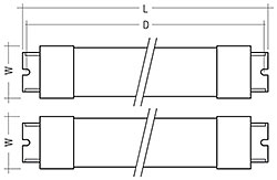 Fig. 2: Stick + Stick; Connection: blade terminal