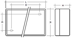 Fig. 3: Side by side; Connection: blade terminal