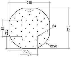 CLE G2 220mm 1500lm EM ADV