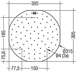 CLE G2 315mm 4000lm EM ADV