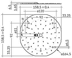 CLE G1 160mm 3000lm SNC