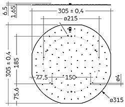 CLE G1 315mm 4000lm SNC