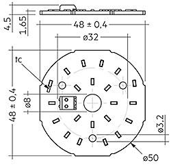 CLE G1 50mm 1000lm SNC