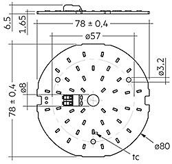 CLE G1 80mm 2000lm SNC