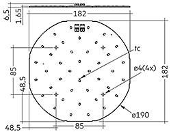 CLE G3 190mm 1500lm EM ADV