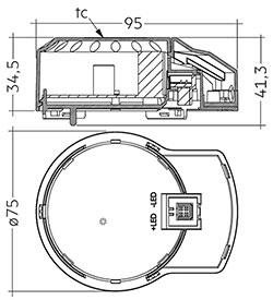 DLA G2 150mm 2000lm 8x0 SNC EM ECG