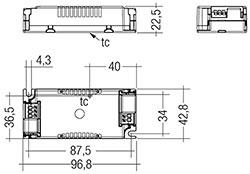 LC 15W 350mA fixC SC ADV