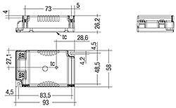 LC 15/20W 350/500/700mA fixC C SNC
