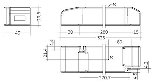 LC 200 W 24 V SC SNC - Tridonic