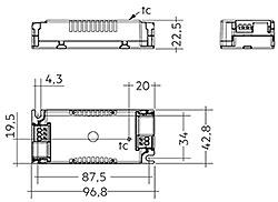 LC 20W 500mA fixC SC ADV