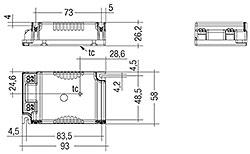 LC 25 W 600 mA fixC C SNC