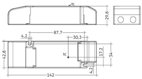 LC 35 W 24 V SC SNC - Tridonic