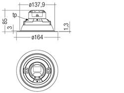 DLA G1 150mm 2000lm 8xx R SH SNC