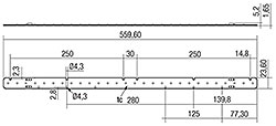 LLE G1 24x560 mm 1300 lm ADV-SE