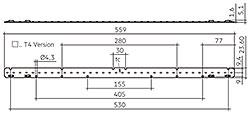 LLE G2 24x560mm 1550lm SNC