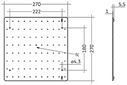 QLE G3+ 270x270mm 1250lm ADV