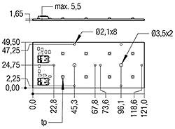 RLE G1 49x121mm 2000lm xxx EXC OTD