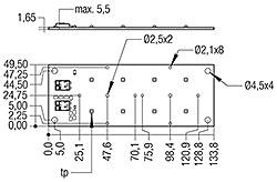 RLE G1 49x133mm 2000lm xxx EXC OTD