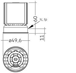 SLA DC G2 50mm 700lm SNC