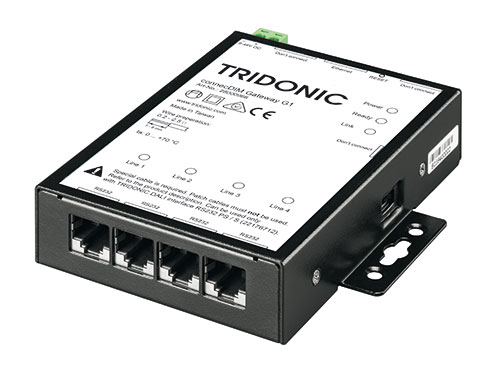Connecdim gateway g1 tridonic ethernet tcpip to dali publicscrutiny Image collections